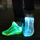 Led Shoes - Fibre Optic - Size 26 (04899.26)