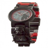 LEGO - Kids Link Watch (2017) - Star Wars - Darth Vader with Mini Figure (8021018)
