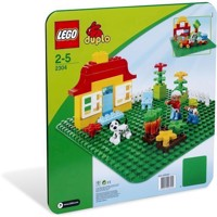 LEGO DUPLO - Green Base Plates (2304)