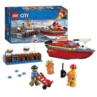 LEGO City 60213 Fire on the quay
