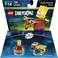 LEGO Dimensions Fun Pack  Bart Simpsons