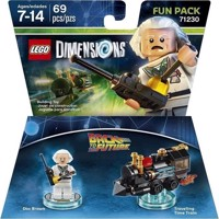 LEGO Dimensions Fun Pack  Doc Brown Back To The Future