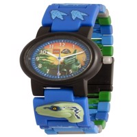 LEGO  Kids Link Watch  Jurassic World  Blue