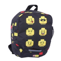 LEGO -  Kindergarten Backpack - Faces/ Black