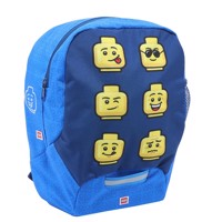 LEGO - Kindergarten Backpack - Faces/ Blue,