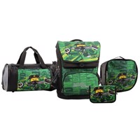 LEGO - Maxi School Bag Set (4 pcs.) - Ninjago - Energy