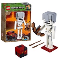 LEGO Minecraft 21150 BigFig Skeleton with Magma Cube
