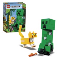LEGO Minecraft 21156 BigFig Creeper and Ocelot