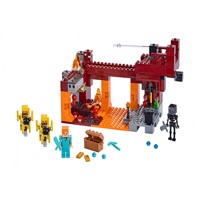 Lego Minecraft The Blaze Bridge 21154