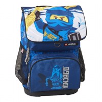 LEGO - Optimo School Bag Set (2 pcs) - Ninjago - Jay of Lightning