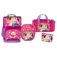 Lego optimo schoolbag set 4 pcs friends cupcake