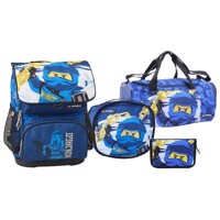 LEGO - Optimo School Bag Set (4 pcs) - Ninjago - Jay of Lightning