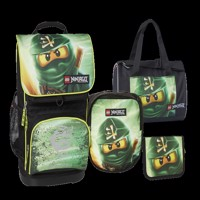 Lego Optimo Schoolbag Set 4Pcs Ninjago Lloyd