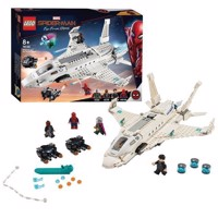 LEGO Super Heroes 76130 Stark jet fighter and the drone attack