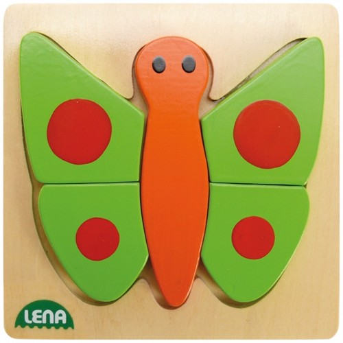 Lena wooden puzzle butterfly
