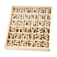 Letters amp numbers  MDF, 288pieces