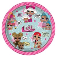 LOL Surprise Plates, 8pcs
