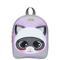 Lulupop amp The Cutiepies Magical Fur Backpack  Raccoon