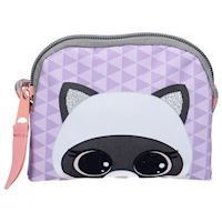 Lulupop amp The Cutiepies Magical Fur Wallet  Raccoon