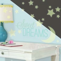 Lyser i mørke ''Sweet Dreams'' wallstickers