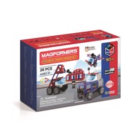 Magformers amazing police rescue set