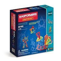 Magformers - Creator set, 60 pc
