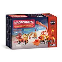 Magformers Power Construction Sæt, 47 dele