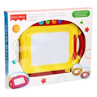 Magnetic Drawing Board L  Red  Yellow