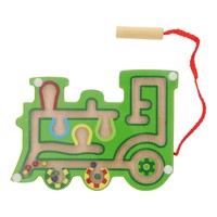 Magnetic Maze Wood Train