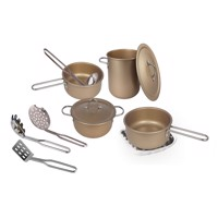 Magni  Cookware set in copper, 11 pcs