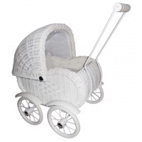 Magni  Doll Pram  Small, White