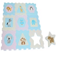 Magni - Floor Mat with Baby Animals (2822)