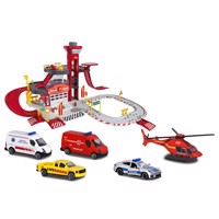 Majorette Creatix Rescue Center with Vehicles