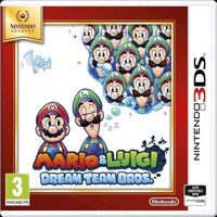 Mario  Luigi Dream Team Bros Selects - Nintendo 3DS