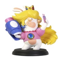 Mario  Rabbids Kingdom Battle 3 Inch Peach Rabbid Figurine - PC