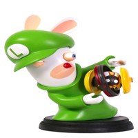 Mario  Rabbids Kingdom Battle 6 Inch Luigi Rabbid Figurine - PC
