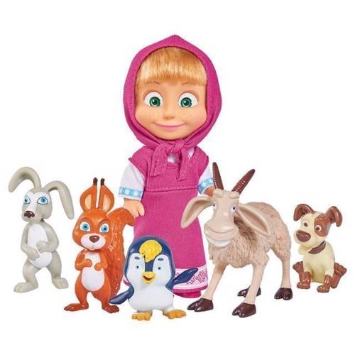 Masha and the Bear Animal friends