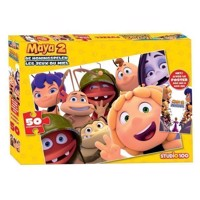 Maya the Bee Puzzle with Poster, 50pcs