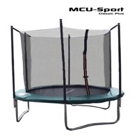 Mcu sport classic plus 3,05 M trampoline w safety net  green