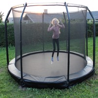 Mcu sport inground trampoline 3,7 M safety net