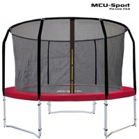 Mcu sport proline 3,05 M red trampoline v30 Pro safety net