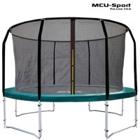 Mcu sport proline 3,7 M green trampoline v30 Pro safety net