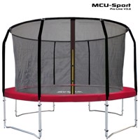Mcu sport proline 3,7 M red trampoline v30 Pro safety net