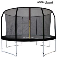 Mcu sport proline 3,7 M black trampoline v30 Pro safety net