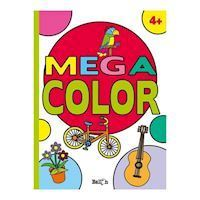 Mega Color Coloring Book