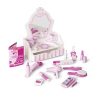 Melissa  Doug  Beauty Salon Play Set 13026
