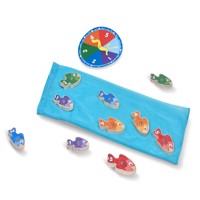 Melissa  Doug  Catch  Count Fishing Game 15149