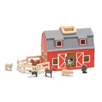 Melissa  Doug  Fold And Go Barn 13700