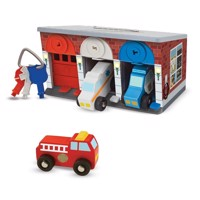 Melissa  Doug  Keys  Cars Rescue Garage 14607