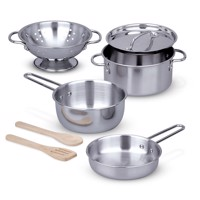 Melissa  Doug  Pots and Pans Set 14265
